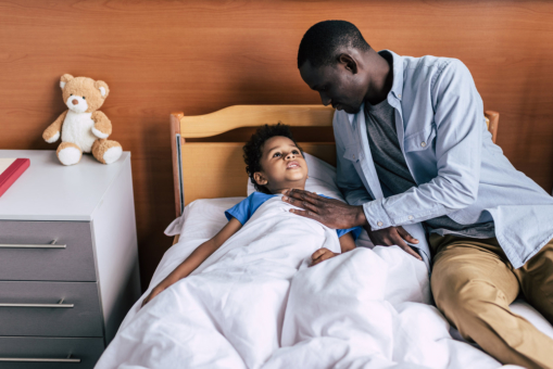 Comforting a Child in Chemotherapy: A Guide for Parents